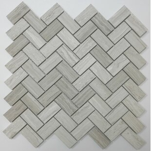 Herringbone Marble Tile You Ll Love Wayfair