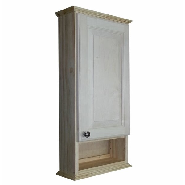 Ashley Series 15.25 W x 31.5 H Wall Mounted Cabinet by WG Wood Products