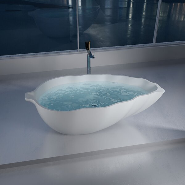 70 x 70 Freestanding Soaking Bathtub by InFurniture