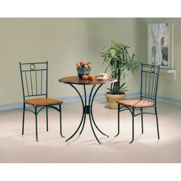 Warsaw 3 Pieces Bistro Pub Table Set by Fleur De Lis Living