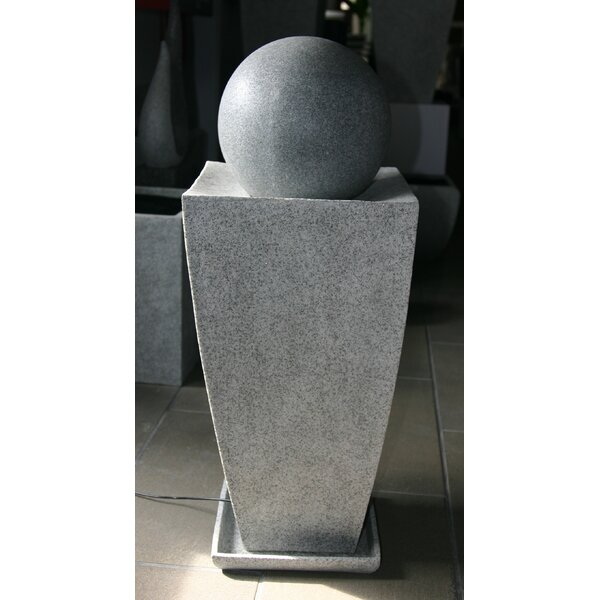 Natural Stone Square Statue Planter by Screen Gems