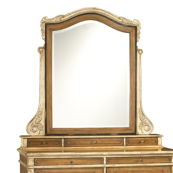 Fleur Arched Dresser Mirror by Darby Home Co