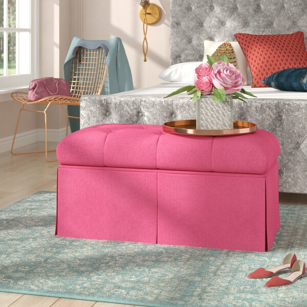 Tracy Upholstered Bench by House of Hampton