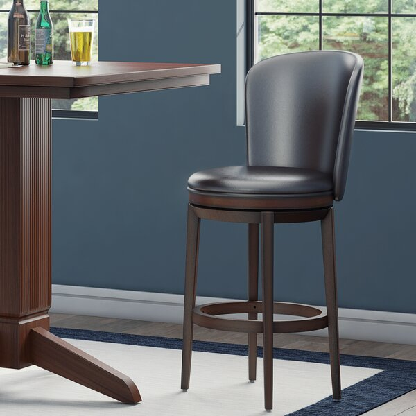 Atterbury 30 Swivel Bar Stool by Red Barrel Studio