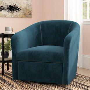 Barrel Swivel Chair Slipcover | Wayfair