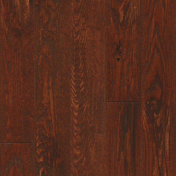 Signature Scrape 5 Solid Oak Hardwood Flooring in Autumn by Armstrong Flooring