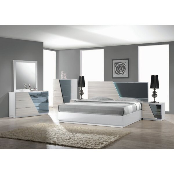 Nikhat Platform Configurable Bedroom Set by Orren Ellis