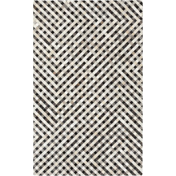 Cassidy Hand-Crafted Beige Area Rug by 17 Stories
