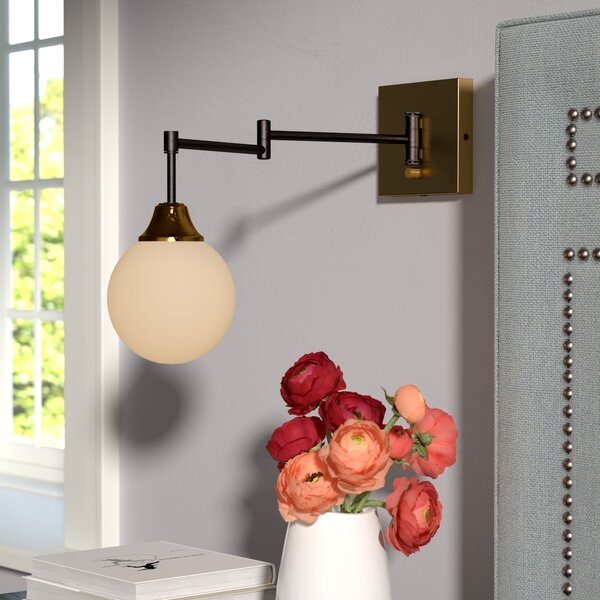 Bautista Swing Arm Lamp by Willa Arlo Interiors