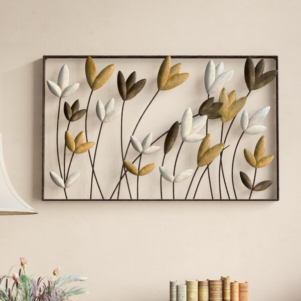 Metal Flowers Wall Décor by Red Barrel Studio