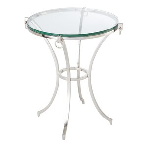Global Views Ring Gueridon End Table