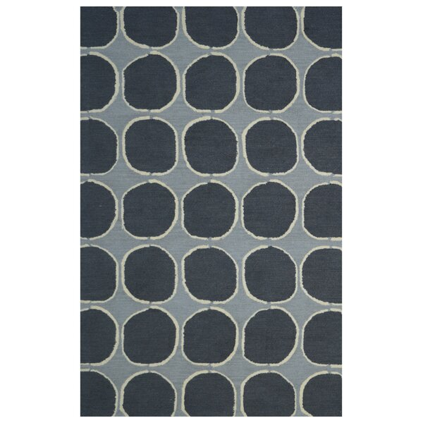 Wool Hand-Tufted Gray/Charcoal Area Rug by Eastern Weavers