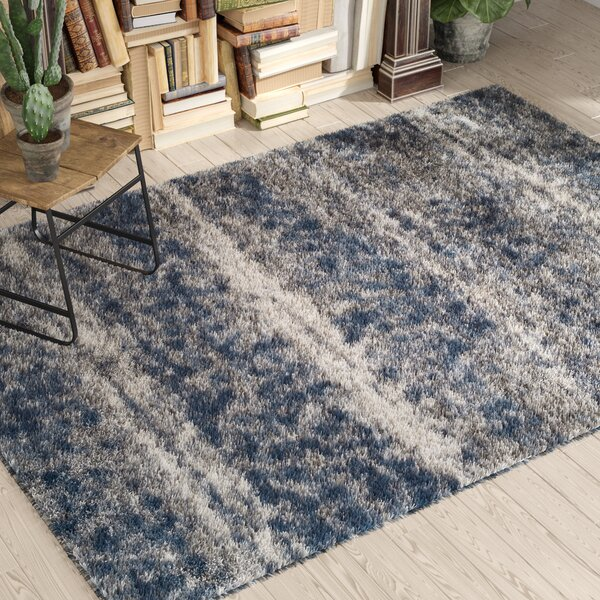 Zhora Denim/Gray Area Rug by 17 Stories