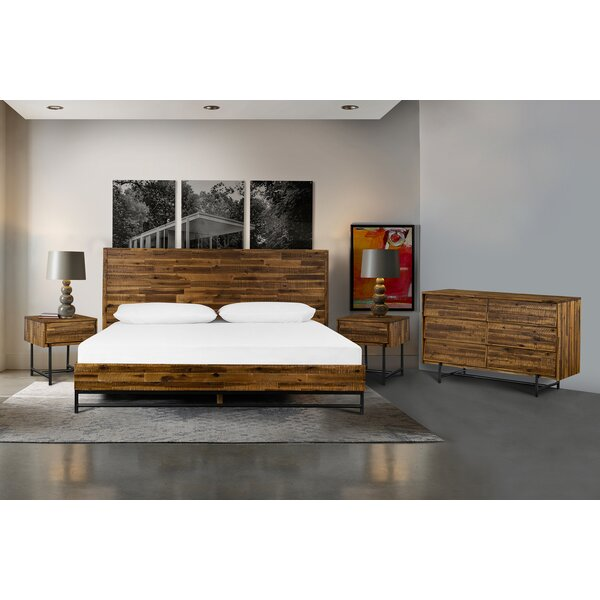 Tague Platform 4 Piece Bedroom Set by Union Rustic