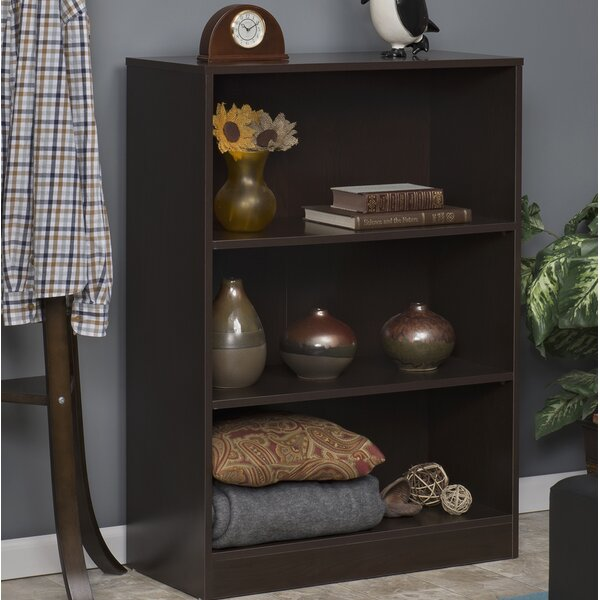 Wood Standard Bookcase by Rebrilliant