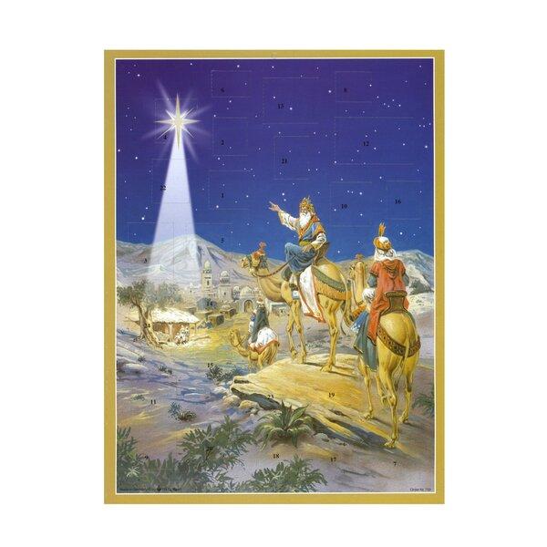 Large 3 Wise Men Advent Calendar by Alexander Taron