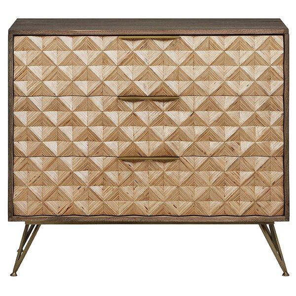 Ingle 3 Drawer Dresser by George Oliver