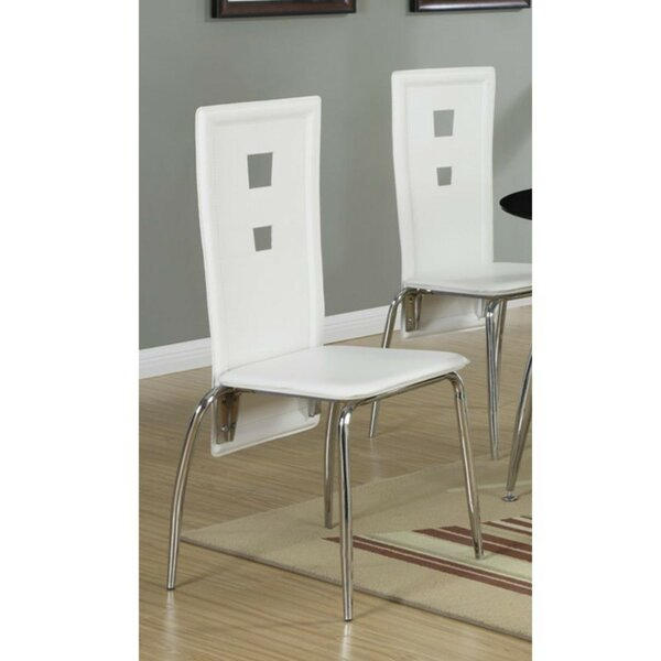 Ganey Upholstered Dining Chair (Set of 2) by Ebern Designs Ebern Designs