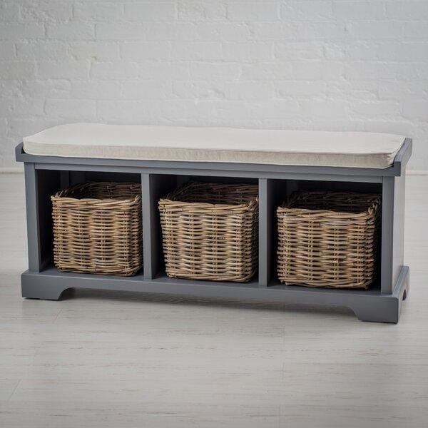 Waltman Solid Wood Storage Bench by Ophelia & Co.