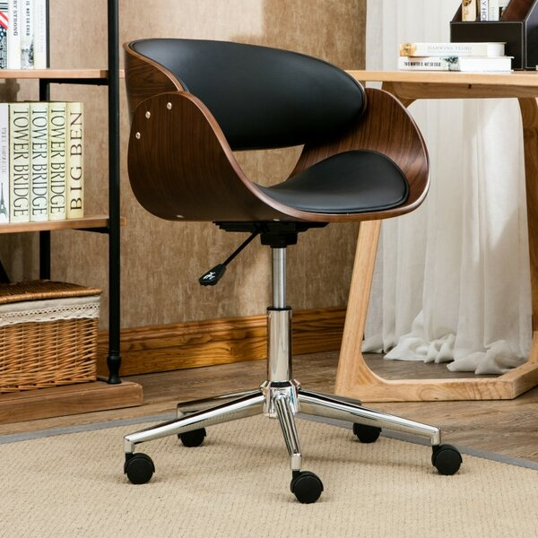 August Mid-Back Desk Chair by Langley Street