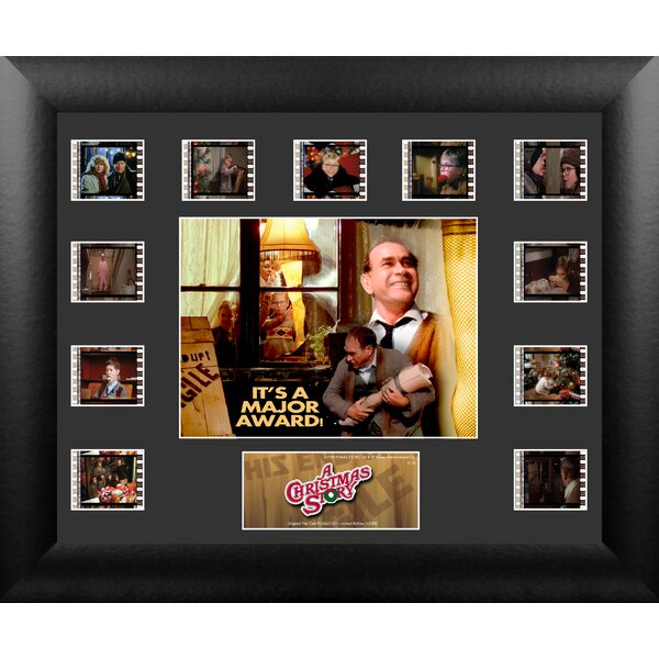 A Christmas Story Mini Montage FilmCell Presentation Framed Memorabilia by Trend Setters