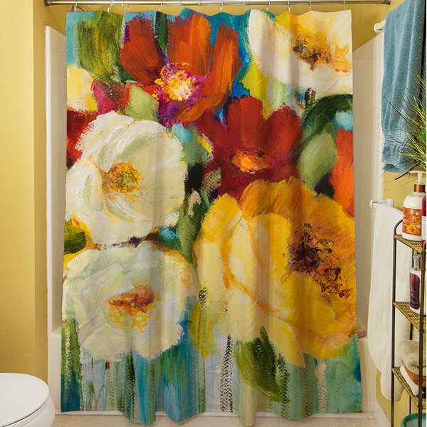 Marya I Shower Curtain by Red Barrel Studio