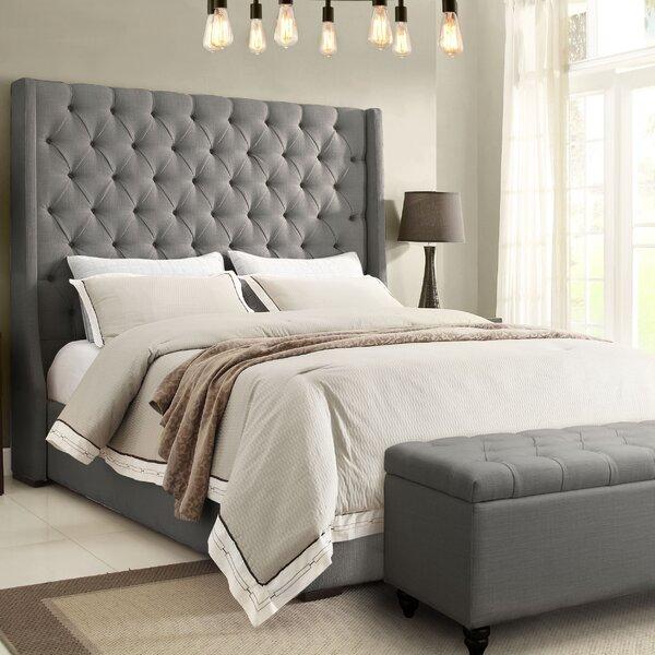 Park Avenue Upholstered Platform Bed By Diamond Sofa