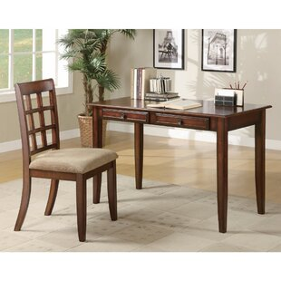 Keeton Wooden 2 Piece Desk Set