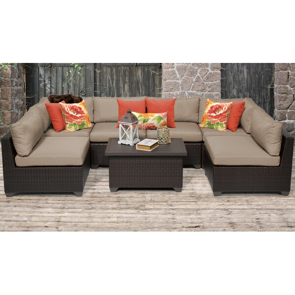 Medley 7 Piece Sofa Seating Group with Cushions by Rosecliff Heights