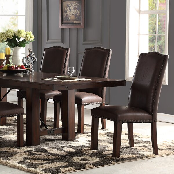 Metinaro Upholstered Dining Chair (Set of 2) by Charlton Home