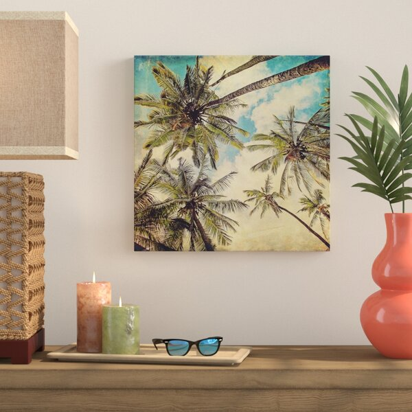 Kauai Island Palms Price Photographic Print on Wrapped Canvas by Bay Isle Home