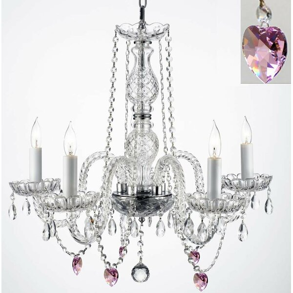 Kennell 5-Light Candle Style Chandelier by House of Hampton