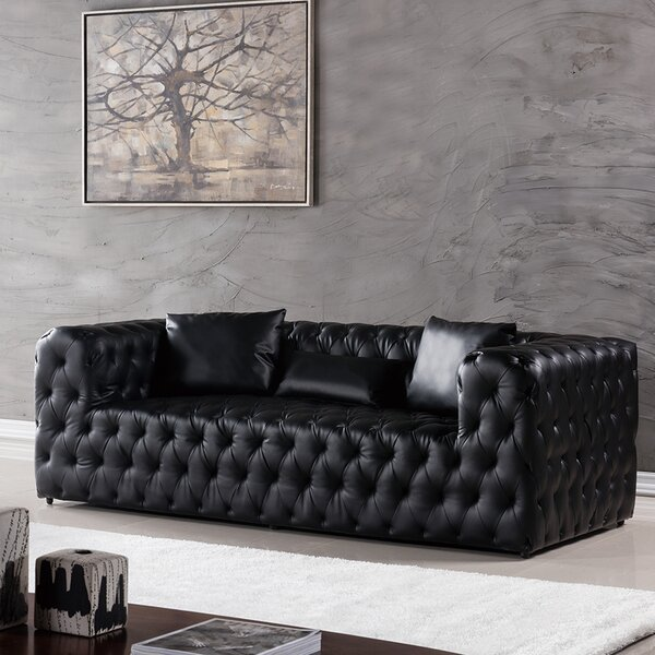 Online Shopping Quality Foti Chesterfield Sofa by Mercer41 by Mercer41