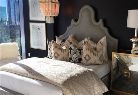 Amalie Upholstered Standard Bed by My Chic Nest