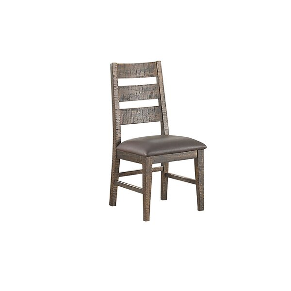 Burkhalter Pines Upholstered Dining Chair (Set of 2) by Union Rustic