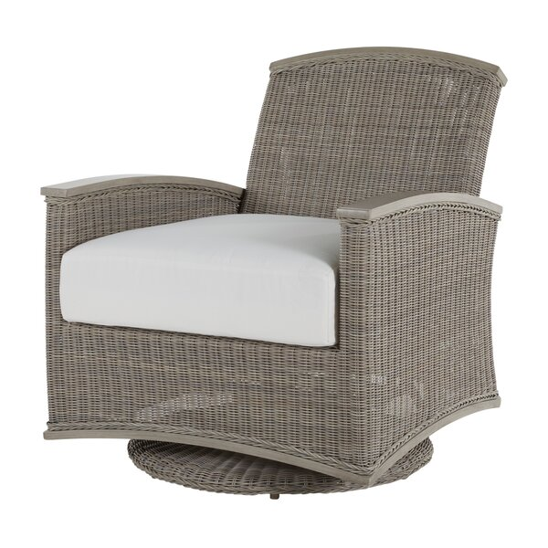 Astoria Swivel Glider Chair with Cushions by Summer Classics