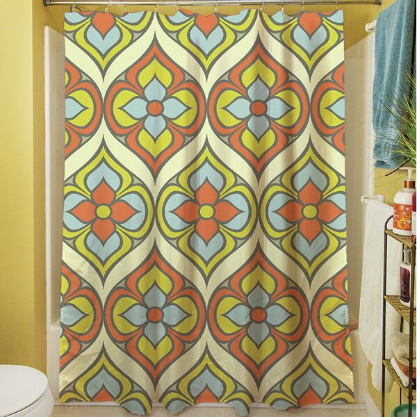 Napoli November Shower Curtain by Manual Woodworkers & Weavers