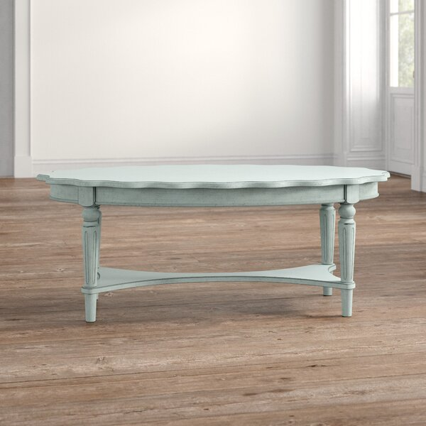 Quitman Coffee Table With Tray Top By Ophelia & Co.