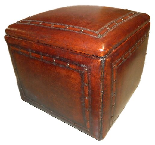 Cube Ottoman By New World Trading