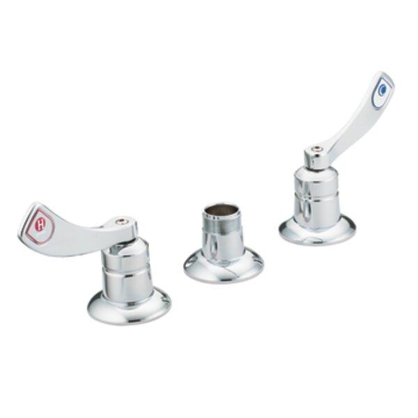 M-Dura Widespread Double Handle Kitchen Faucet without Spout by Moen Moen