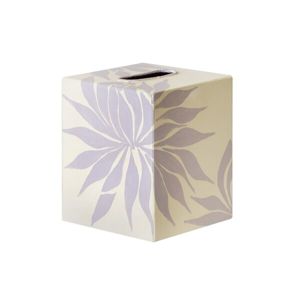 Floral Tissue Box Cover by Worlds Away