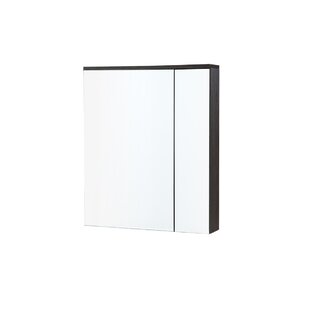 Best Reviews Gamache 23.63 W x 25.5 H Surface Mount Framed Medicine Cabinet By Wrought Studio