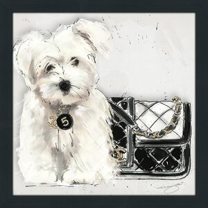 'Coco Pup' Graphic Art Print by Picture Perfect International