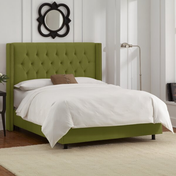 Allbright Upholstered Standard Bed by Willa Arlo Interiors