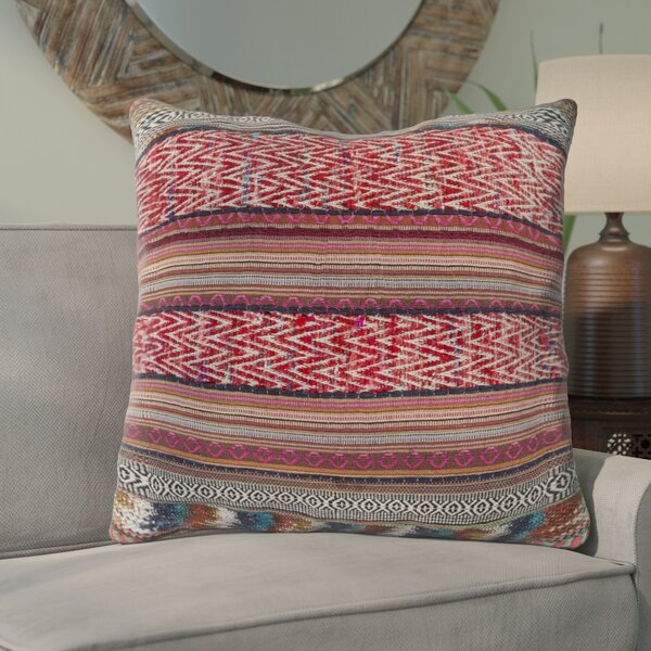 Zamora Throw Pillow Cover by Bungalow Rose