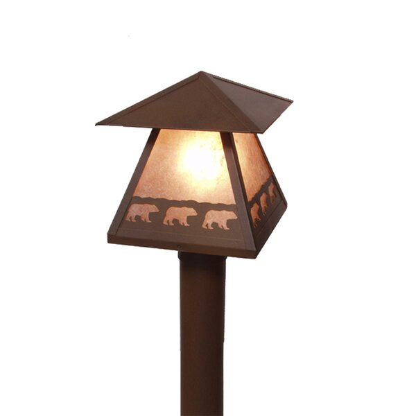 Brinkley 1-Light Lamp Post by Millwood Pines