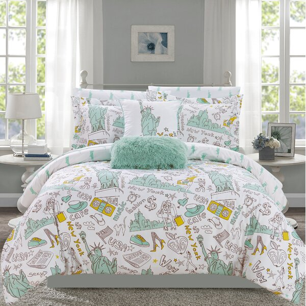 Judson Reversible Comforter Set by Ebern Designs