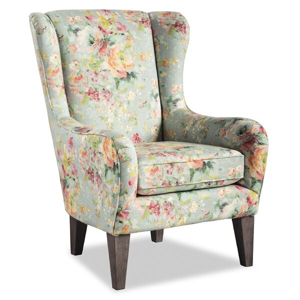 Katie Wingback Chair by Rosalind Wheeler Rosalind Wheeler