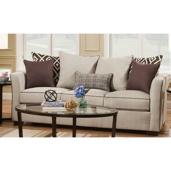 Simmons Upholstery Woodbridge Sleeper Sofa by Wrought Studio
