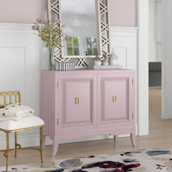 Mettler 2 Door Accent Cabinet by House of Hampton House of Hampton